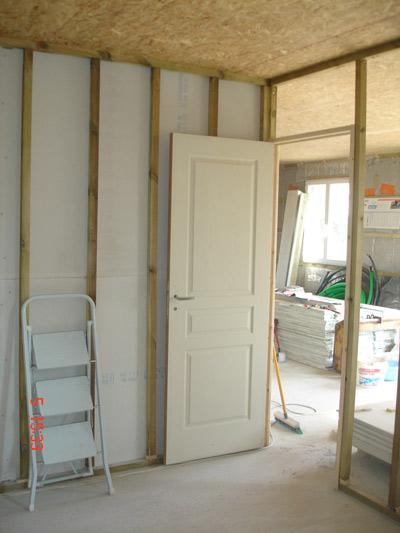 posede l 39 ossature des cloisons et des portes f vrier mars 2007. Black Bedroom Furniture Sets. Home Design Ideas